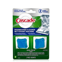 Print a coupon for $0.50 off Cascade Dishwasher Cleaner