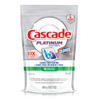Save $0.50 on any Cascade with the Power of Clorox product