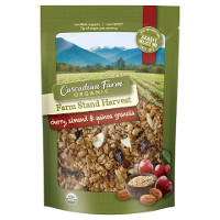 Print a coupon for $1 off one bag of Cascadian Farm Organic Farm Stand Harvest Granola