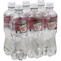 Save 75 cents on a 6-pack of Canada Dry Sparkling Seltzer Water