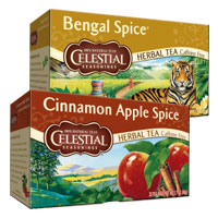Print a coupon for $1 off two boxes of Celestial Seasonings teas