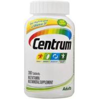 Print a coupon for $4 off one bottle of Centrum or Centrum Silver Vitamins
