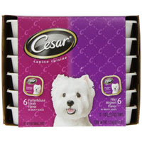Save $1 on 12 Cesar Tray Entrees or one Multipack
