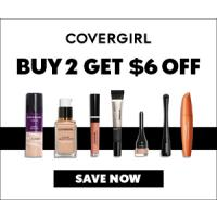 Print a coupon for $3 off any two Covergirl products