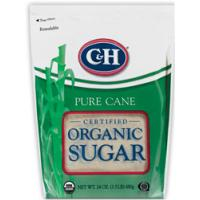 Print a coupon for $0.40 off one C+H Organic Sugar product