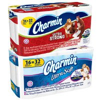 Print a coupon for $1 off Charmin Ultra Soft or Strong Toilet Paper