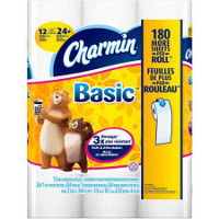 Print a coupon for $1 off Charmin Basic or Essentials Soft or Strong Toilet Paper, 12-pack or larger