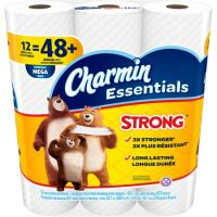 Print a coupon for $0.25 off Charmin Essentials Soft or Essentials Strong 4 pack or larger