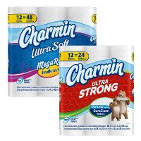Print a coupon for $0.25 off Charmin Ultra Soft or Strong Toilet Paper