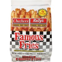 Print a coupon for $0.75 off one bag of Checkers or Rally's Frozen Seasoned Famous Fries