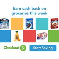 Get Cashback on your favorite grocery brands at any store with Checkout 51