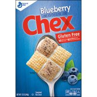 Print a coupon for $1 off a box of Blueberry Chex Cereal