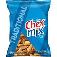Print a coupon for $0.50 off two bags of Chex Mix, Chex Mix Muddy Buddies, Chex Mix Popped, Bugles and more