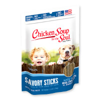Print a coupon for $1 off any bag of Chicken Soup for the Soul Dog Treats