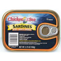 Print a coupon for $1 off any five Chicken of the Sardines