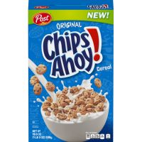 Print a coupon for $0.50 off one box of Post Chips Ahoy, Honey Maid S'mores or Oreo O's Cereal