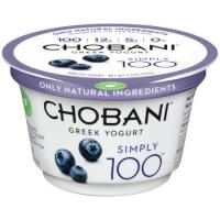 Save $1 on three Chobani Simply 100 Greek Yogurts