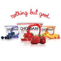 Save $1 on any three 5.3 oz. Chobani Greek Yogurts