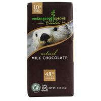 Print a coupon for $0.75 off one Endangered Species Chocolate Bar