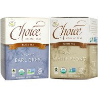 Print a coupon for $1 off two boxes of Choice Organic Teas