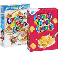 Print a coupon for $0.50 off one box of Cinnamon Toast Crunch Cereal