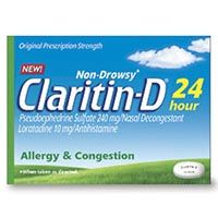 Save $7 on any Claritin Non-Drowsy Allergy Product