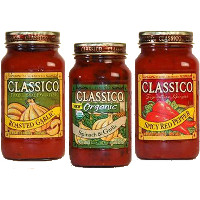 Save $1.50 on any three jars of Classico Red Sauce, 24 oz or larger