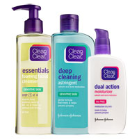 Save $1 on any one Clean and Clear Acne Product