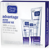 Save $3 on any Clean and Clear Advantage Acne Control Kit