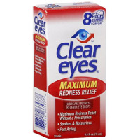 Print a coupon for $.50 off Clear Eyes eye drops, 0.3oz or larger