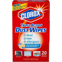 Save $0.50 on any Clorox Dust Wipes Product