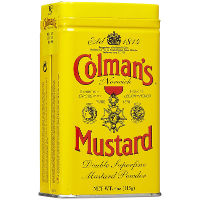 Print a coupon for $1 off any Colman's Dry Mustard Powder