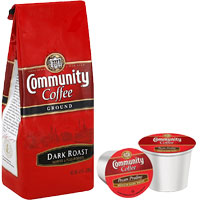 Print a coupon for $1.50 off one Bag or K-Cup Box of Community Coffee
