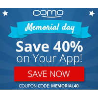 Get 40% Off Your Own Mobile App with code MEMORIAL40. Try it today, risk free!