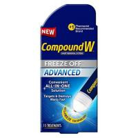 Print a coupon for $2 off one Compound W Freeze Off Adanced product