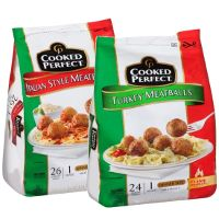 Print a coupon for $1.50 off any two bags of Cooked Perfect Meatballs