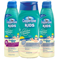 Save $3 on any two Coppertone Kids Sunscreen Products