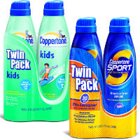 Save $1 on any Coppertone Sport SPF 30 or Coppertone Kids SPF 50 Continuous Spray Twin Pack