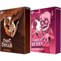 Print a coupon for $0.75 off a box of Count Chocula, Franken Berry or Boo Berry Cereal