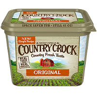 Print a coupon for $1 off any Country Crock 45oz product