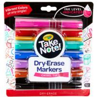 Print a coupon for $1 off one Crayola Take Note product