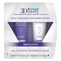 Save $2 on Crest 3D White Brilliance 2-Step System Toothpaste