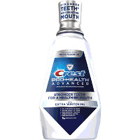 Print a coupon for $2 off one bottle of Crest Pro-Health Advanced Mouthwash