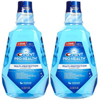 Save $1 on two bottles of Crest Pro-Health Rinse 500ml or larger