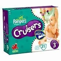 Save $2 on one package of Pampers Cruisers Diapers and one box of Pampers Wipes