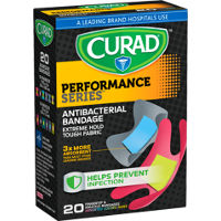 Save $0.75 on one box of Curad Performance Series Bandages