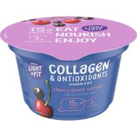 Print a coupon for $0.75 off one Dannon Cup of Dannon Light and Fit Collagen + Antioxidants Nonfat Yogurt