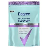 Print a coupon for $2 off one Degree Maximum Recovery Body Wash Soak product