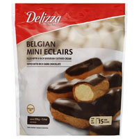 Print a coupon for $1.50 off one package of Delizza Mini-Eclairs, Cream Puffs or Mousse
