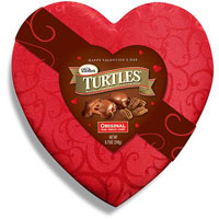 Save $1 on one Valentine's Day or regular package of DeMet's Turtles
